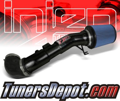 Injen® Power-Flow Short Ram Intake (Wrinkle Black) - 04-10 Nissan Titan 5.6L V8
