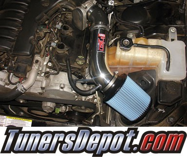Injen® Power-Flow Short Ram Intake (Wrinkle Black) - 05-08 Dodge Magnum 3.5L V6