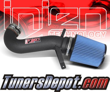 Injen® Power-Flow Short Ram Intake (Wrinkle Black) - 08-10 Dodge Challenger 6.1L V8 SRT-8