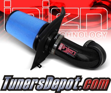 Injen® Power-Flow Short Ram Intake (Wrinkle Black) - 94-02 Dodge Ram Pickup Cummins 5.9L L6