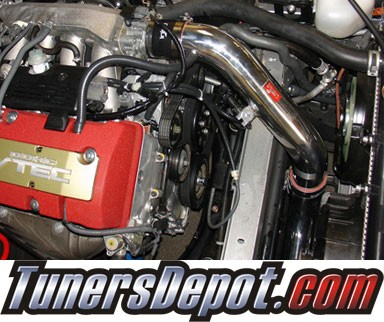 Injen® SP Cold Air Intake (Black Powdercoat) - 00-03 Honda S2000 2.0L 4cyl