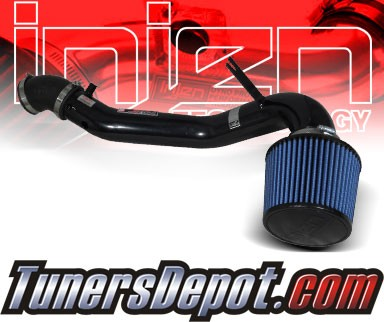 Injen® SP Cold Air Intake (Black Powdercoat) - 02-06 Acura RSX Type-S 2.0L 4cyl