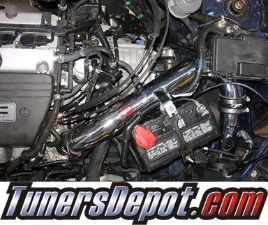 Injen® SP Cold Air Intake (Black Powdercoat) - 03-06 Honda Element 2.4L 4cyl