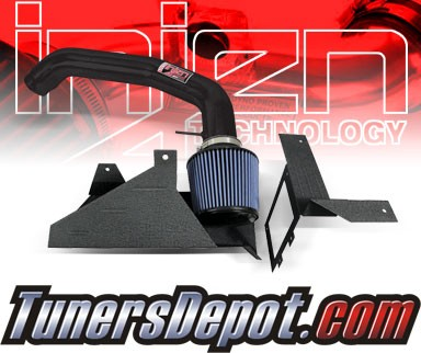 Injen® SP Cold Air Intake (Black Powdercoat) - 04-06 Volvo C40 Turbo 2.5L 5cyl (MT)
