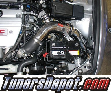 Injen® SP Cold Air Intake (Black Powdercoat) - 04-08 Acura TSX 2.4L 4cyl