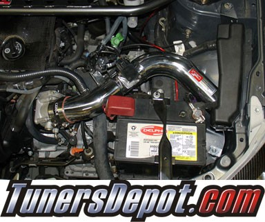 Injen® SP Cold Air Intake (Black Powdercoat) - 05-06 Toyota Corolla 1.8L 4cyl