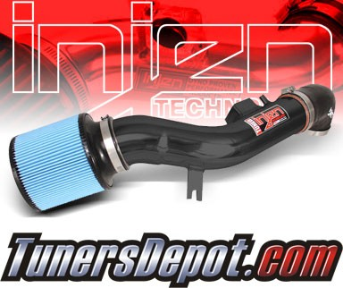 Injen® SP Cold Air Intake (Black Powdercoat) - 08-12 Chevy Malibu 2.4L 4cyl (with Air Pump)