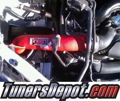 Injen® SP Cold Air Intake (Wrinkle Red) - 08-13 Subaru Impreza WRX/STI 2.5L 4cyl