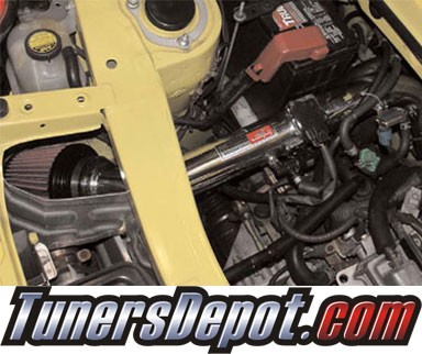 Injen® SP Short Ram Intake (Black Powdercoat) - 00-05 Toyota MR-2 MR2 1.8L 4cyl