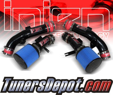Injen® SP Short Ram Intake (Black Powdercoat) - 10-12 Nissan GT-R GTR 3.8L V6