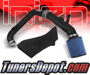 Injen® SP Short Ram Intake (Wrinkle Black) - 11-12 BMW 335i 3.0L L6 Turbo E90/92/93