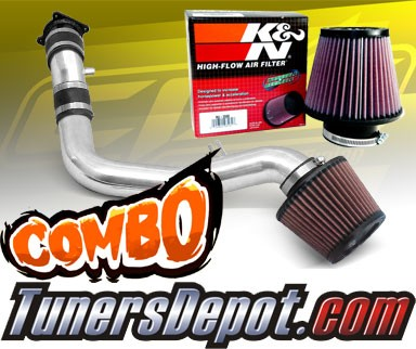 Stainless Steel Air Filter For 02-06 Altima 3.5L V6 Blue Cold Air Intake
