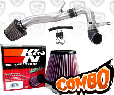 KN Air Filter Spyder Cold Air Intake System Polish Acura - Acura tsx air filter