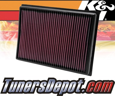 K&N® Drop in Air Filter Replacement - 10-12 Lexus GX460 4 6L V8
