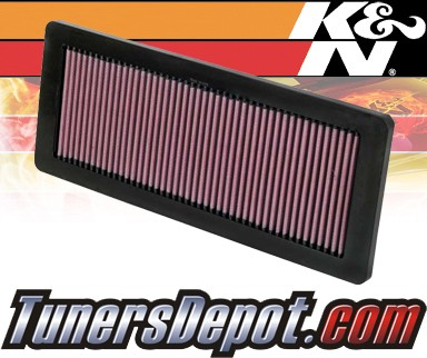 K and N Original Performance Part K/&N 33-2936 High Flow Replacement Air Filter