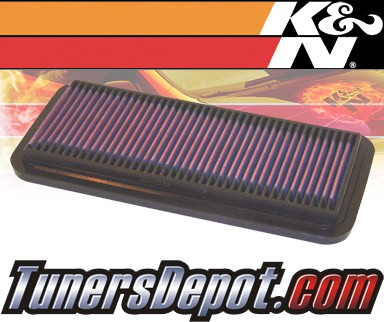 K&N® Drop in Air Filter Replacement - 98-98 Chevy Tracker 1.6L 4cyl