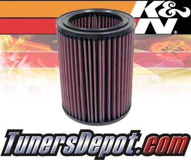 K&N® Drop in Air Filter Replacement - 99-07 Isuzu Trooper 3 0L 4cyl Diesel