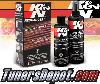 K&N® Air Filter Cleaner Recharger Kit - Squeeze Version
