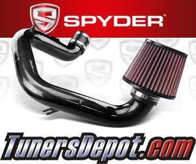 K&N® Air Filter + Spyder® Cold Air Intake System (Black) - 03-06 Toyota Matrix XR 1.8L 4cyl