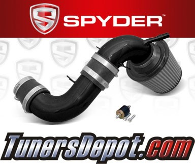 K&N® Air Filter + Spyder® Cold Air Intake System (Black) - 04-04 Ford Focus 2.3L 4cyl