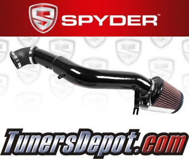 K&N® Air Filter + Spyder® Cold Air Intake System (Black) - 05-10 Jeep Grand Cherokee 3.7L V6