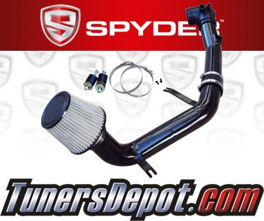 K&N® Air Filter + Spyder® Cold Air Intake System (Black) - 06-09 Mazda MX-5 Miata 2.0L 4cyl