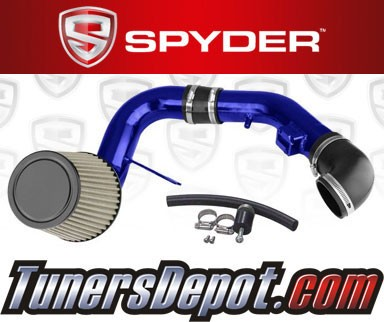 K&N® Air Filter + Spyder® Cold Air Intake System (Blue) - 05-10 Chevy Cobalt 2.2L 4cyl