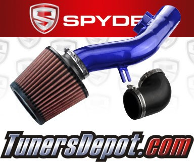 K&N® Air Filter + Spyder® Cold Air Intake System (Blue) - 08-10 Pontiac G6 2.4L 4cyl (Without Air Pump)