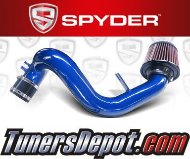 K&N® Air Filter + Spyder® Cold Air Intake System (Blue) - 11-15 Kia Optima 2.4L 4cyl
