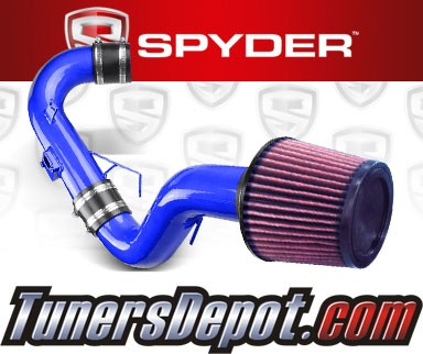 K&N® Air Filter + Spyder® Cold Air Intake System (Blue) - 11-16 Scion tC 2.5L 4cyl