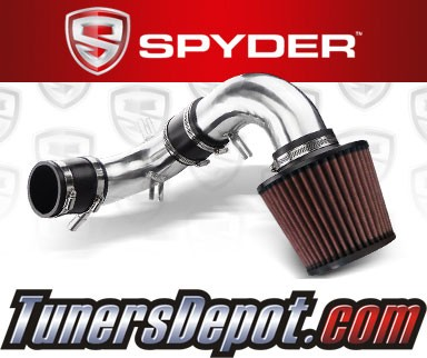 K&N® Air Filter + Spyder® Cold Air Intake System (Polish) - 04-04 Ford Focus 2.3L 4cyl