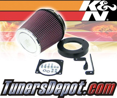 K&N® Aircharger Intake System - 00 Ford Mustang SVT Cobra 4.6L