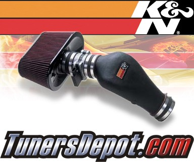 K&N® Aircharger Intake System - 01-04 Chevy Corvette Z06 5.7L