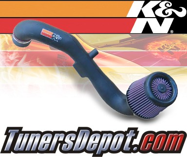 K&N® Aircharger Intake System - 03-04 Ford Focus 4 Cyl. 2.3L