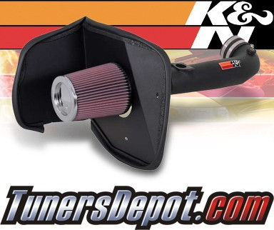 K&N® Aircharger Intake System - 03-04 Toyota Tundra 4.7L