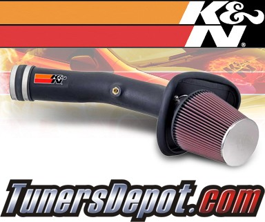 K&N® Aircharger Intake System - 04-08 Nissan Maxima V6 3.5L