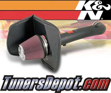 K&N® Aircharger Intake System - 05-06 Toyota Tundra 4.7L