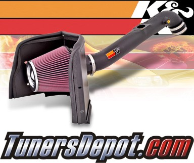 K&N® Aircharger Intake System - 05-09 Toyota Tacoma 2.7L
