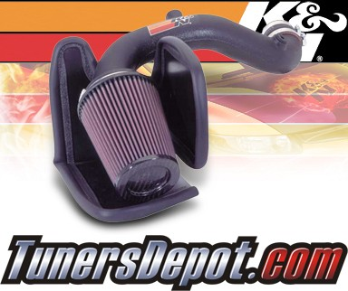 K&N® Aircharger Intake System - 05 Chrysler PT Cruiser 4 Cyl. 2.4L Turbo
