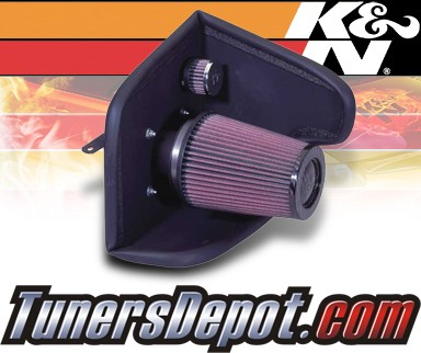 K&N® Aircharger Intake System - 05 Dodge Neon 4 Cyl. 2.0L