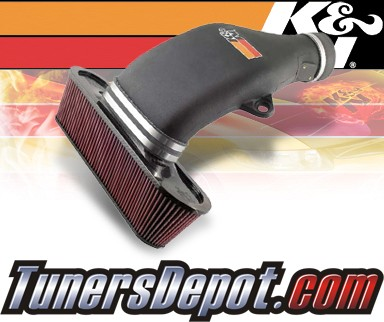 K&N® Aircharger Intake System - 06-09 Chevy Corvette Z06 7.0L