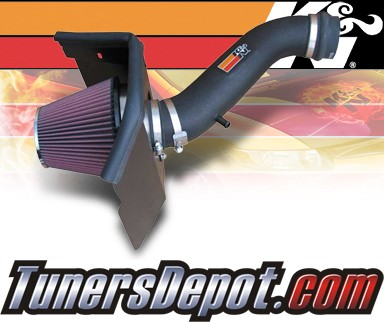 K&N® Aircharger Intake System - 06-09 Jeep Commander 3.7L