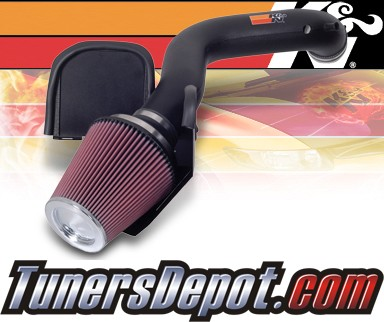 K&N® Aircharger Intake System - 07-08 Dodge Durango 5.7L
