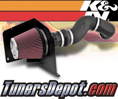 K&N® Aircharger Intake System - 07-08 GMC Sierra 3500 HD 6.0L