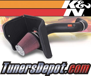 K&N® Aircharger Intake System - 07-08 Toyota Tundra 4.7L