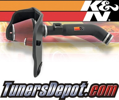 K&N® Aircharger Intake System - 07-09 Chevy Colorado 2.9L