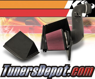 K&N® Aircharger Intake System - 07-09 Chevy Silverado 3500 HD 6.6L Diesel