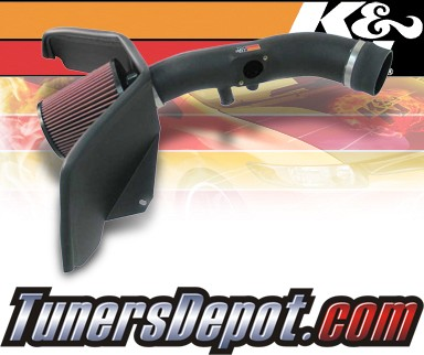 K&N® Aircharger Intake System - 07-09 Chevy TrailBlazer 4.2L