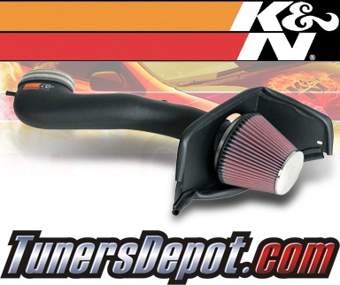K&N® Aircharger Intake System - 07-09 Ford Mustang GT 4.6L