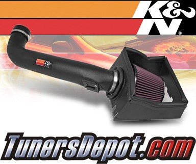 K&N® Aircharger Intake System - 07-10 Ford Expedition 5.4L